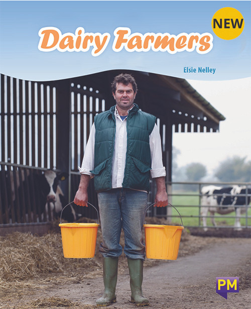 PM Library Turquoise Level 18 Dairy Farmers 6-pack