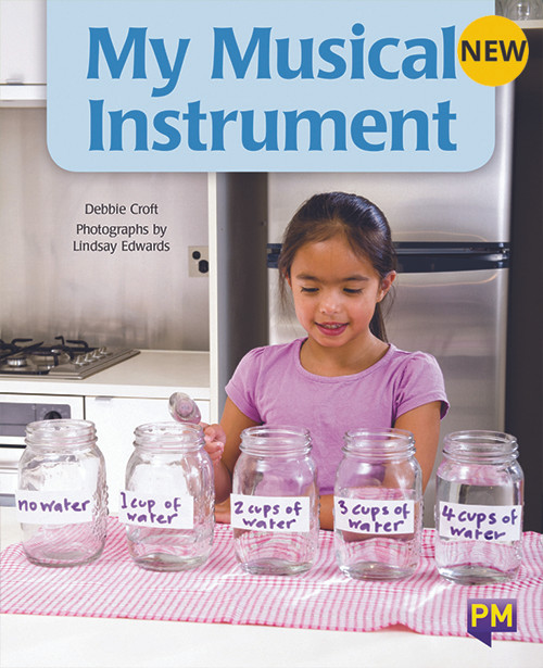 PM Library Turquoise Level 18 My Musical Instrument 6-pack
