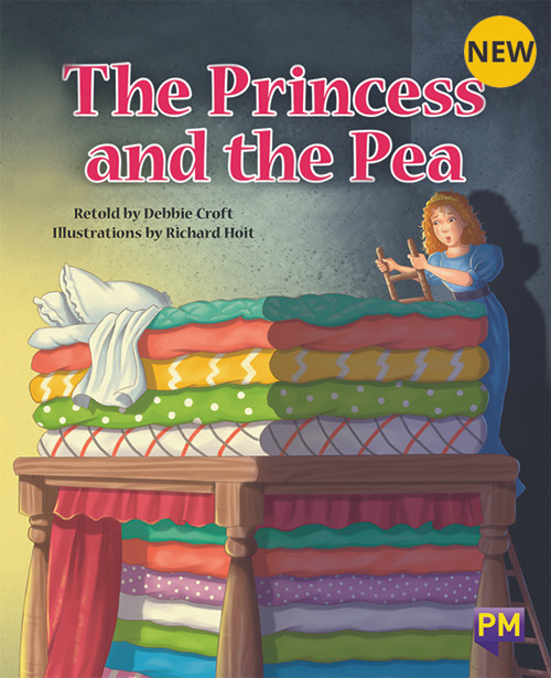 PM Library Turquoise Level 18 The Princess and the Pea 6-pack
