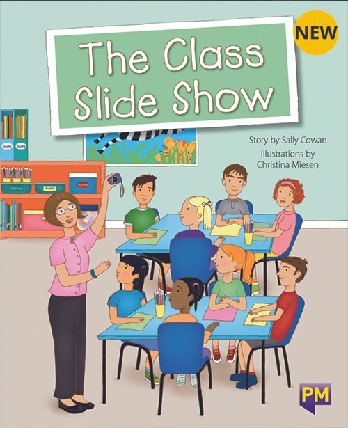 PM Library Turquoise Level 18 The Class Slide Show 6-pack
