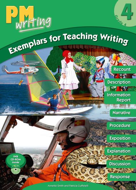 PM Writing Grade 4 Exemplars for Teaching Writing Big Book