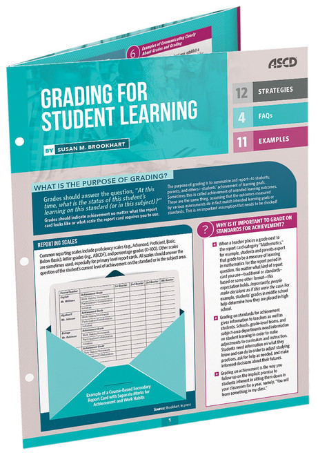Grading for Student Learning Quick Reference Guide