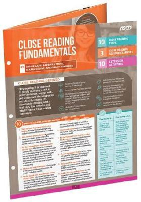 Close Reading Fundamentals Quick Reference Guide