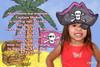 Girls Pirate Birthday Party Invitations