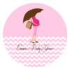 Pink Mum to Be Edible Cookie, Cupcake & Cake Icing. Personalised. Made in Australia.