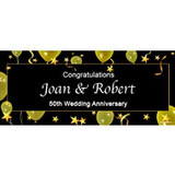 Personalised Anniversary Banners