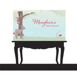 Personalised Baby Shower Banners