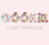 Cookie Cake Templates