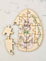 Boy Easter Bunny Jigsaw Puzzle for kids