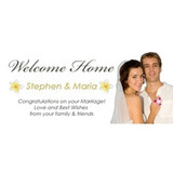 Personalised Welcome Home Banners