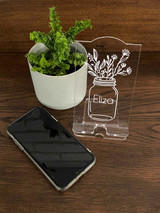 Personalised phone stands