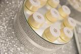 Metallic, Silver and Sequin Wedding Dessert Table