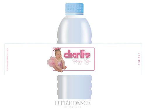 Christening, Baptism, Naming Day Personalised Water Bottle Labels Australian online shop
