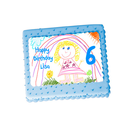Design your Own Personalised Cake Icing