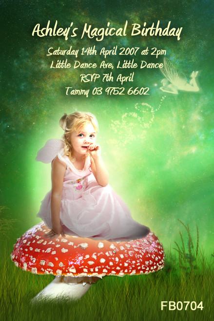 fantasy Birthday Party Invitations