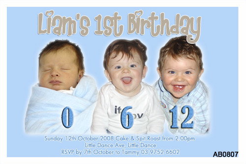 Milestone Birthday Party Invitation