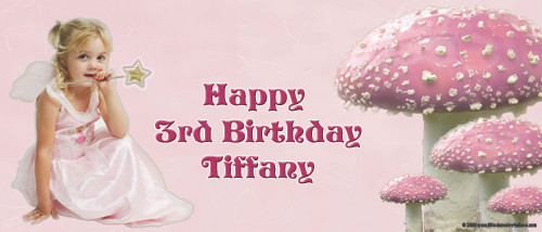 Party Banner - Fairy Toadstool Party Banners