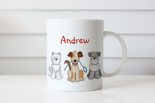 Personalised Dog Lovers Mug