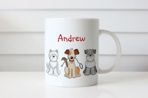 Personalised Dog Lovers Mug