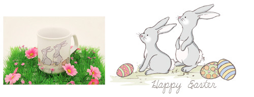 Easter Personalised Mugs