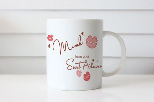 Secret Admirer Personalised Valentines Day Mug - Valentines Day Gift