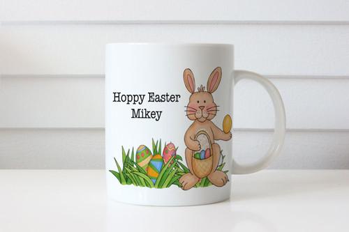 Happy Easter themed coffee mug. Buy online in Australia