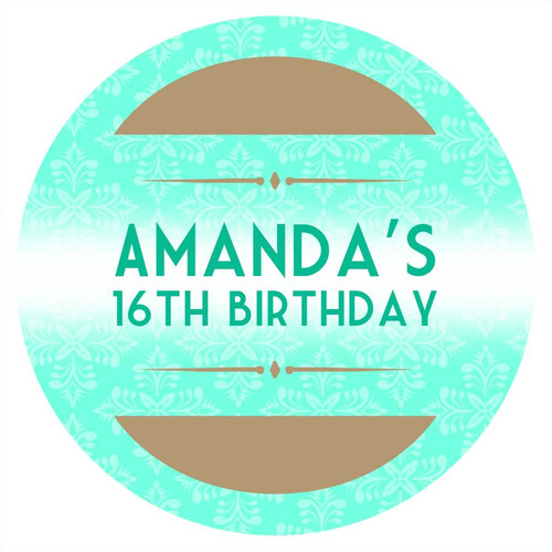 Event TIcket Party Personalised Party Labels & Stickers & Stickers