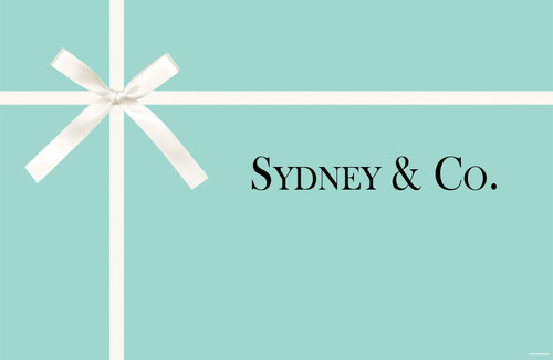 Personalised Tiffany & Co Birthday Party Banner or custom Tiffany happy birthday banner. Printed in Australia. Buy with Afterpay, Paypal or card.