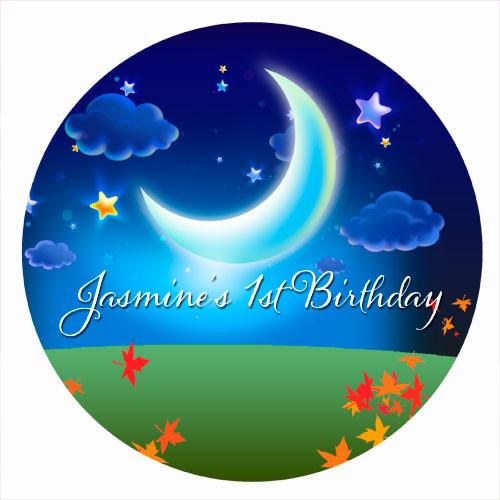 Night Garden Birthday Cake Icing & Personalised cake, cookie & cupcake icing sheets.