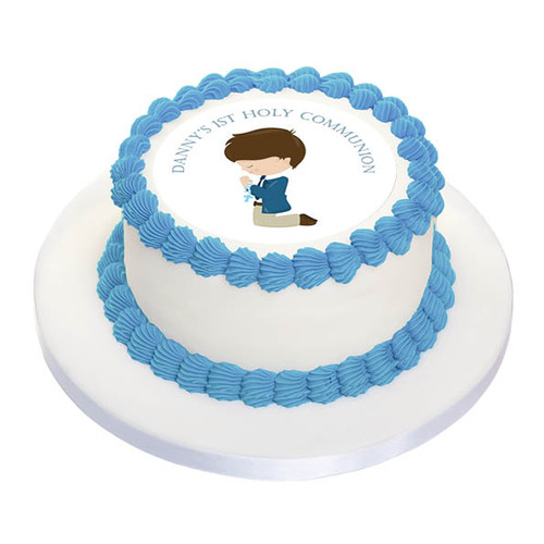 First Holy Communion Cake Icing