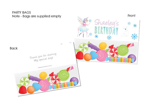 Fairy Leaves party loot bags