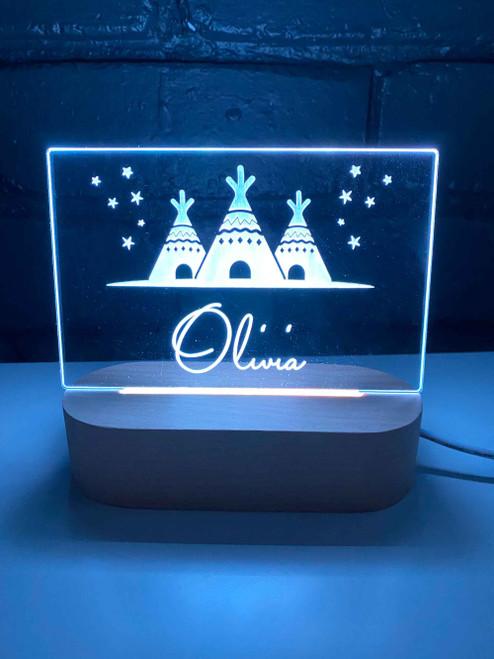 Personalised Boho Night Lights