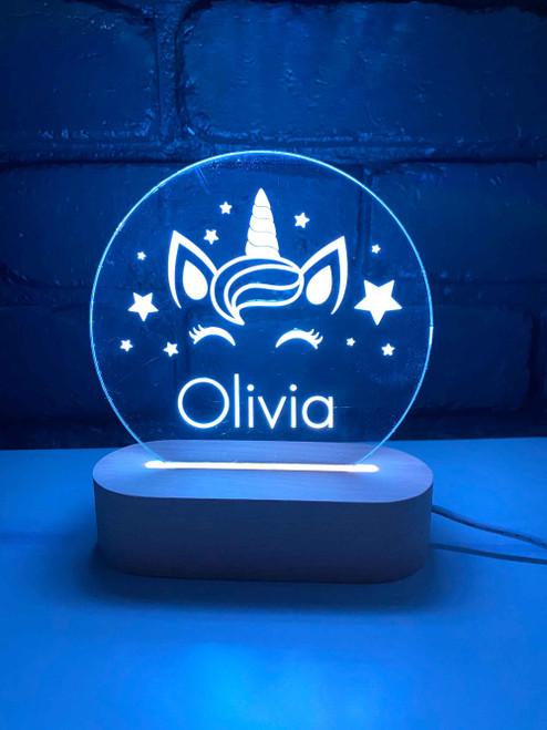 Personalised Unicorn Night Lights