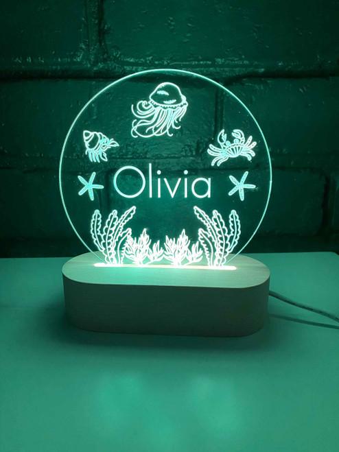 Under the Sea LED Night Light