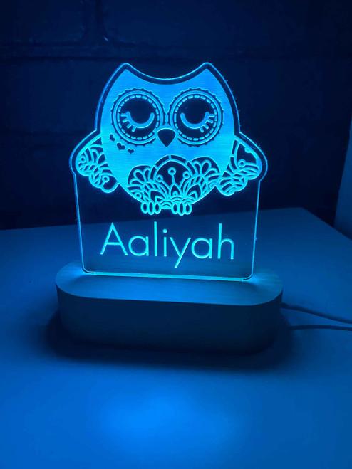 Owl LED Night Light