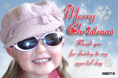 Merry Christmas from Australia Christmas photocard