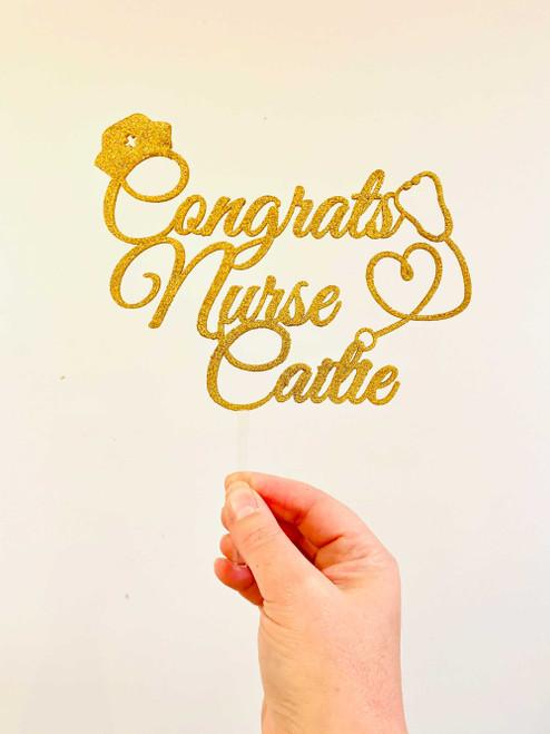 Cake Ideas for Nursing Graduates