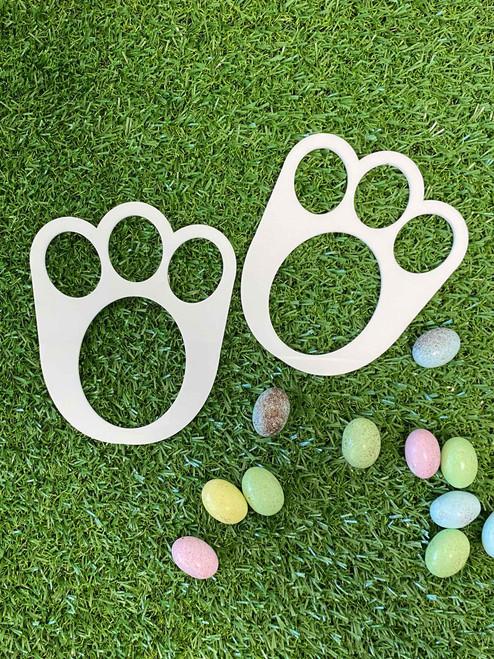 Easter Bunny Footprint Stencils Australia