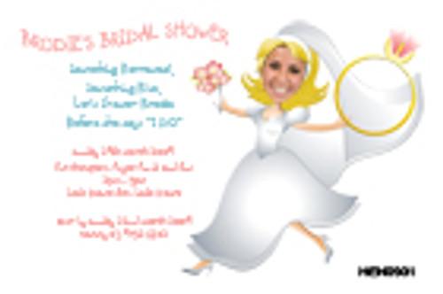 Bridal Shower Hens Night Invitations