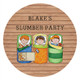 Boys Only Sleepover Slumber Party Personalised Party Labels & Stickers & Stickers.