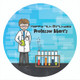 Science Party Personalised Party Labels & Stickers & Stickers.