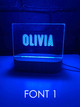 Personalised Night Lights Buy with AfterPay PayPal or Card