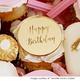 Happy Birthday Cake Charms - Bonbonniere Tags