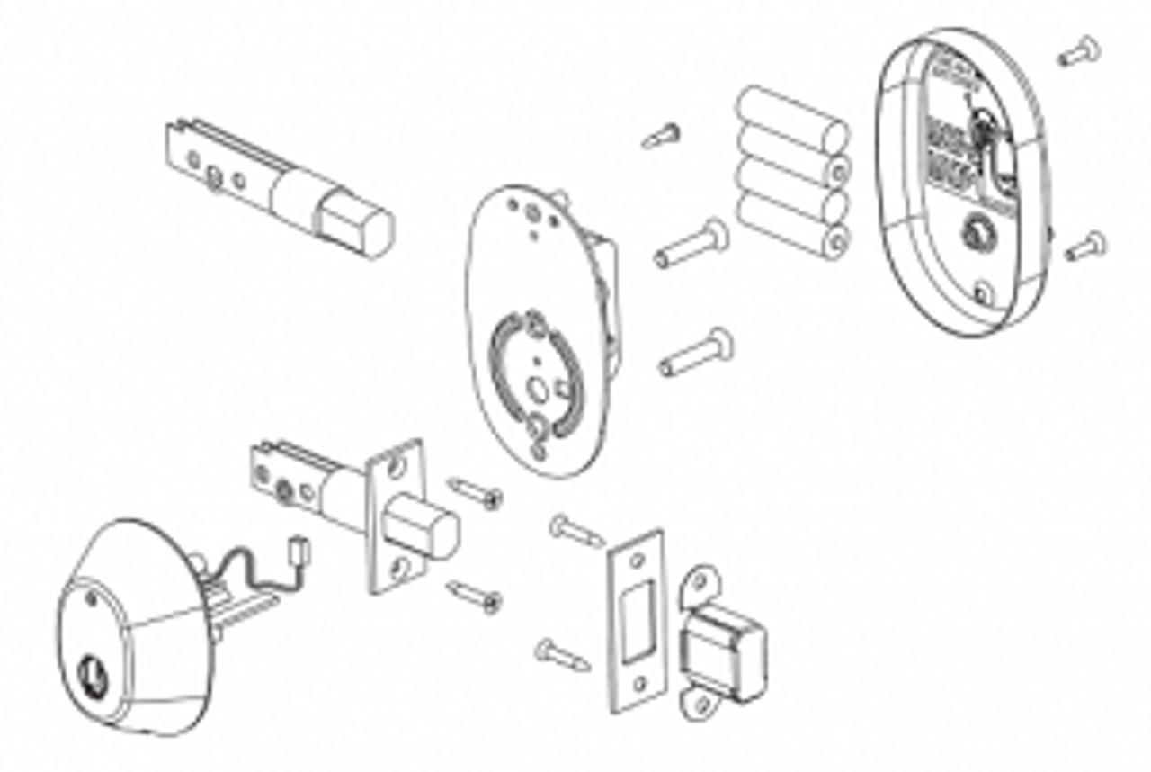 RD05 InSync D Electronic Deadbolt Common Configuration
