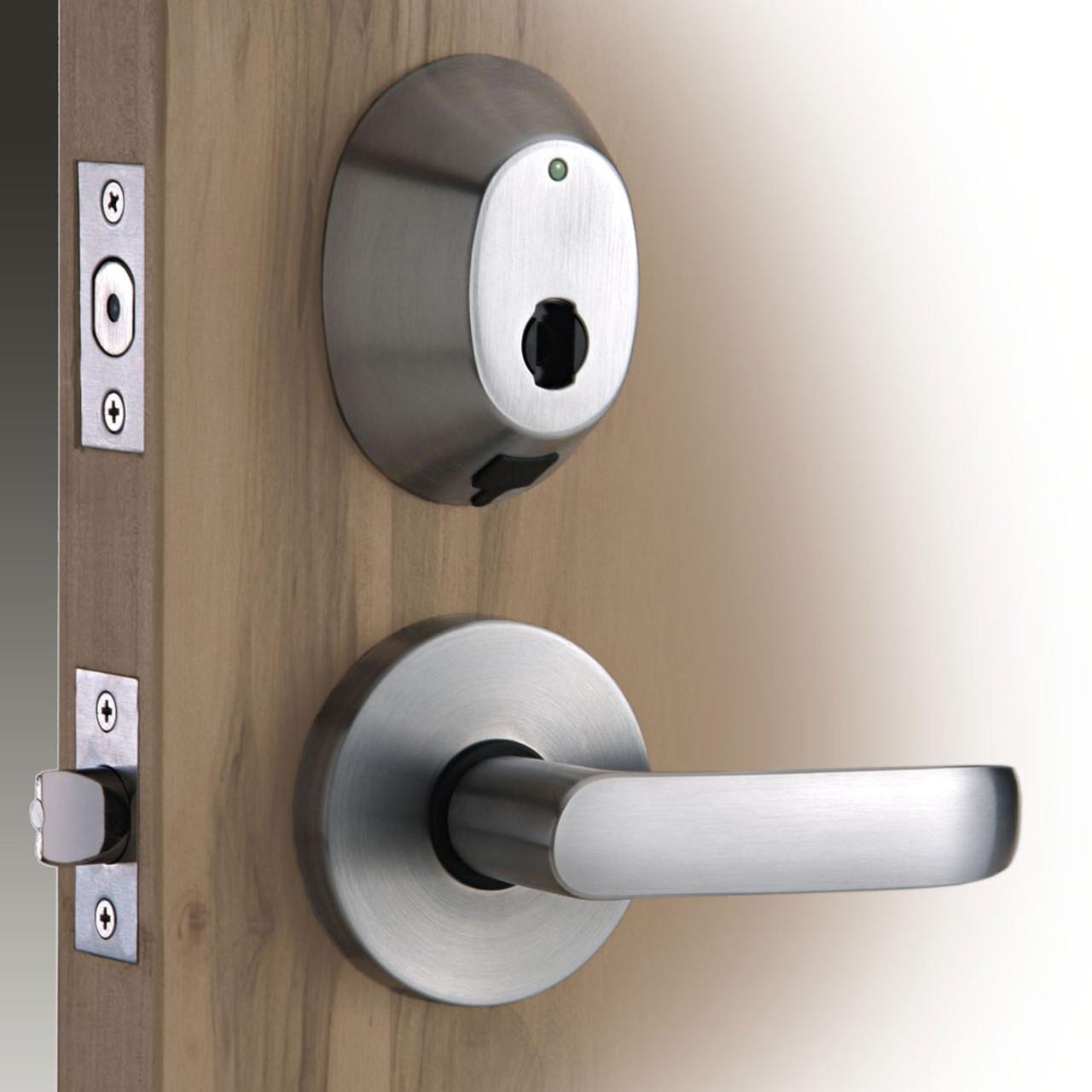 INSYNC RI - INTERCONNECT RFID DEADBOLT DOOR LOCK HANDLESET