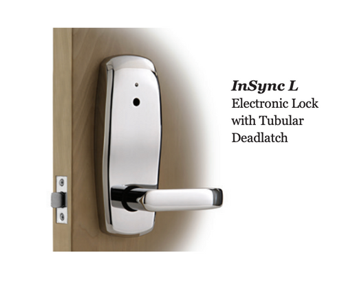 INSYNC L (LATCH) - TUBULAR RFID DOOR LOCK
