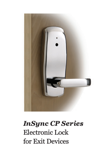 INSYNC CP / RP - PANIC LOCK - EXIT TRIM DOOR LOCK