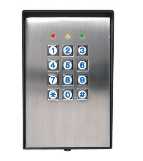 Stand Alone Surface Mount Wiegand  Keypad