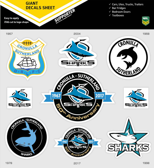 50th Anniversary Logo Pack -  Stickers