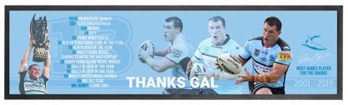 Paul Gallen Bar Runner